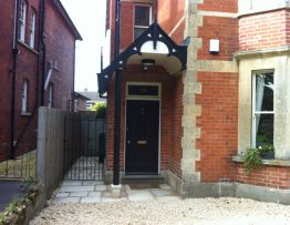 Leckhampton Road front after